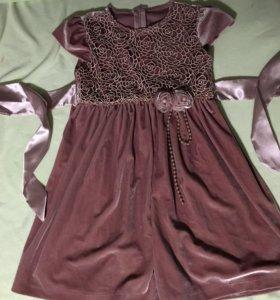 Платье для девочки ( 5 лет)