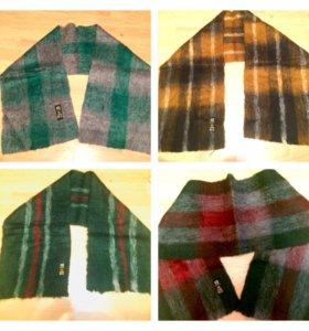 Новые мохеровые мужские шарфы