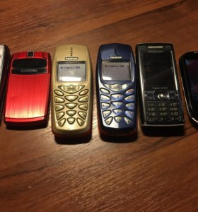 Телефоны Nokia Samsung