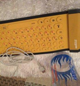 Жидкая клавиатура