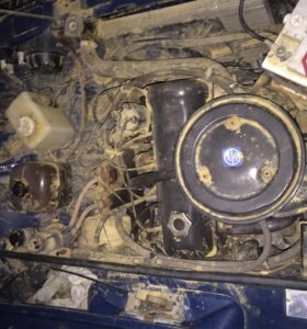 Двигатель ваз 2107, 8 клапанов .