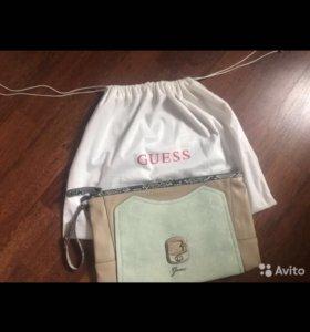Новая оригинальная сумка-клатч Guess