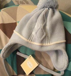 Новая детская шапка 46-48