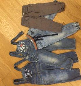 Комбинезоны+джинсы+джогеры. GJ р 12-18 мес (1-1,5)