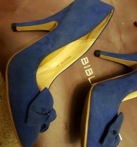 Туфли, замшевые