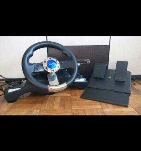 Гоночный руль Oklick Sportline W-3