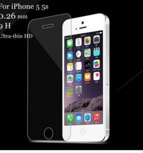 Защитное стекло IPhone 5,5s, se