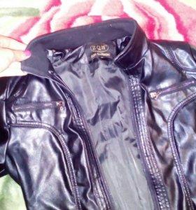 Продам срочно!!!!!Новую кожаную куртку