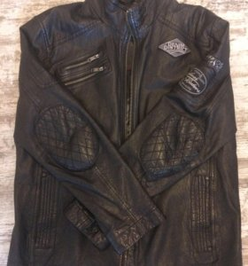 Куртка кожанная s. Oliver