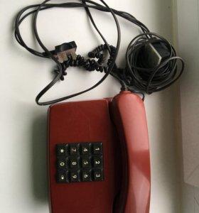 Телефон стационарный кнопочный