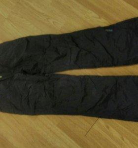 Горнолыжные штаны. женские 44- 46р.