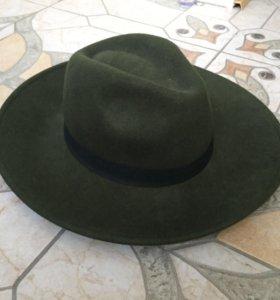 Шляпа шерстяная