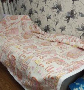 Покрывало двух спальное на кровать