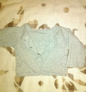 Двухсторонний пиджак для маленькой модницы