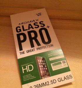 Закаленное стекло для iPhone 5