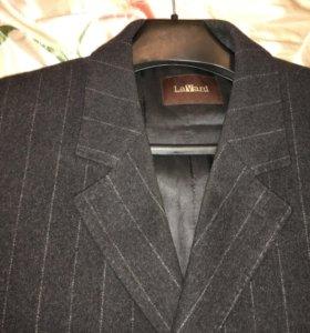Мужское пальто шерстяное новое