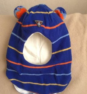 "Шлем ""Котик"" зимний на 4 года"