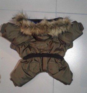 Тёплая курточка на флисе