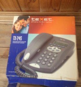 Проводной телефон Texet