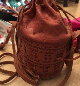 Натуральная кожа сумка оригинальная
