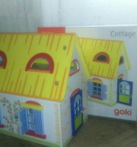 Кукольный домик, отличный подарок для девочки!