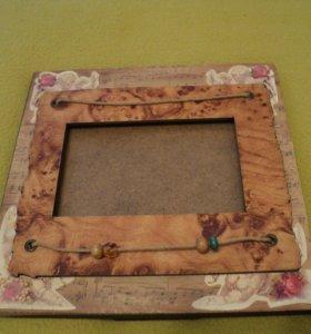 Рамка для фотографий 9*13 Oldena дерево, стекло
