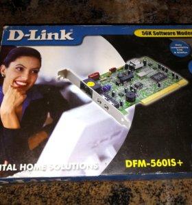 Модем D-Link 56k