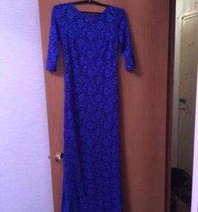 Вечернее платье, шикарный шлейф