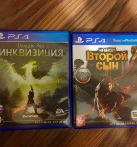 Продам игры на Sony PlayStation 4