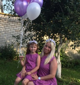 Платья мама+дочь (Прокат)