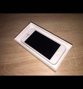 Новый iPhone 5 . 64gb. Оригинал .