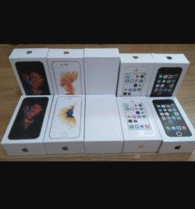 iPhone 4,4s,5,5s,6,6s новые с Touch ID и без.