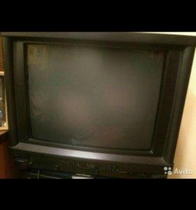 Телевизор sharp. Цветной. Рабочий