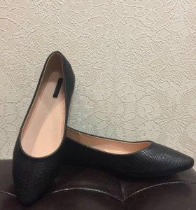 Туфли-балетки 41+,новые