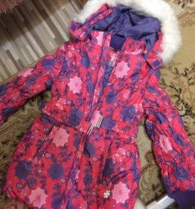 Новая красивая зимняя детская куртка фирмы Barkito