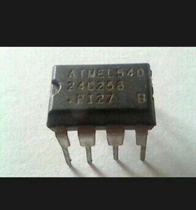 Микросхема ATMEL540 24C256 PI27