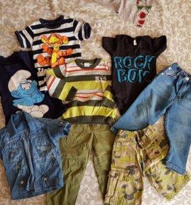 Вещи для мальчика 12-24мес