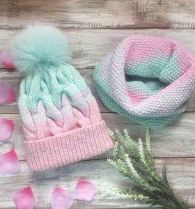 Очень тёплая шапочка