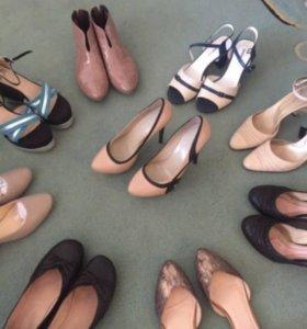 Туфли 39-40 кожа