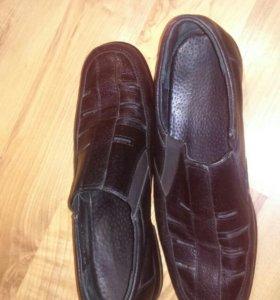 Туфли полуботинки школьные для мальчика