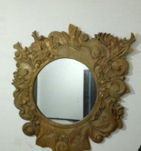 Зеркало в оправе ручной работы