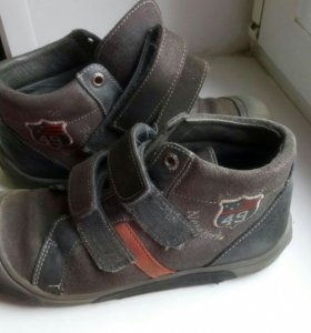 Ботинки демисезон бу для мальчика р. 33