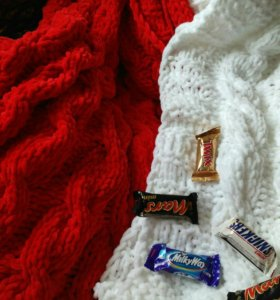 Пледы, подушки вязаные (ручная работа)