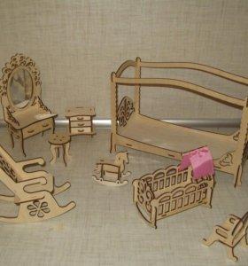 Мебель для больших кукол в кукольный домик