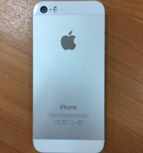 iPhone 5s белый 16 гб
