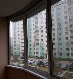 окно алюминиевой конструкции