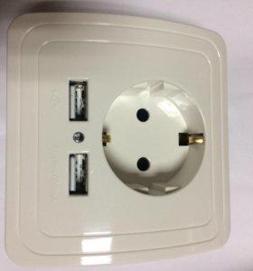 Розетка с USB