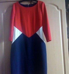 Трикотажное платье.