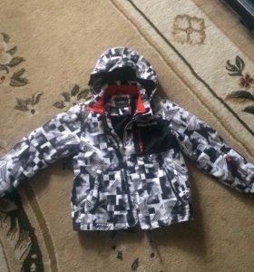 Зимняя куртка р.140