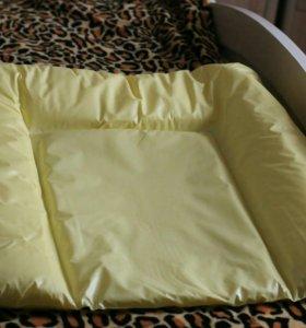 Матрасик для пеленального столика непромокаемый
